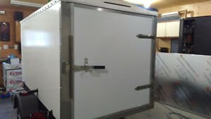 Brand new 8 x 4.5 enclosed cargo trailer