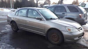 Acura EL, 2003. Manual, Good condition, drives well.