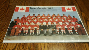 Collectible posters: Team Canada & Toronto Maple Leafs