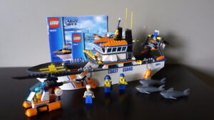 lego coast guard boat set
