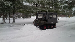 1996 Argo Conquest 8x8, tracks, plow, canopy
