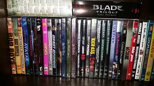 Various top hit movie dvd's!!!