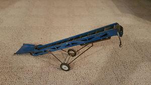 Vintage Blue Tin Elevator 1/16th Scale