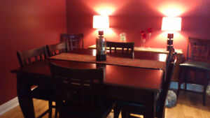 Extendable Pub Style Dining Table