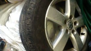 OEM VW 16 summer rims off 2009 Rabbit also will fit  on a JETTA
