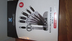 Kitchen Knife Set 8 Pieces by Carl Weill - Brand New Knife Set