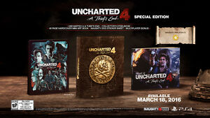 Uncharted 4 Special Edition for PS4