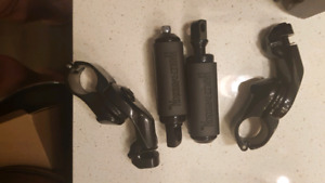 Harley touring pegs and mounts 250 obo