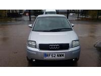 2002 AUDI A2 1.6 FSI Sport 12mth Warranty AA Roadcover Full History