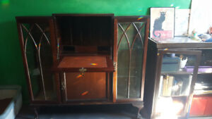 Writing Desk with Display