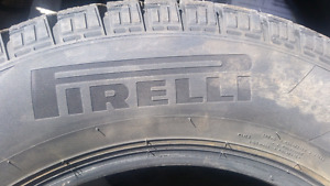 195/65 R15 winter tires barely used