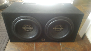 "12"" Bassworx 12.3 Subwoofers in Ported Box"