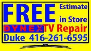 Dynex TV repair LED HDTV, LCD TV, NO POWER, No Picture
