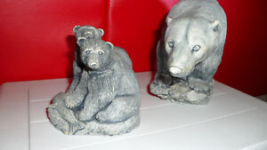 2 Vintage Bear Carvings Both for $100. Prince George British Columbia image 2