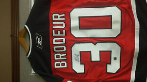 Autographed Martin Brodeur Jersey
