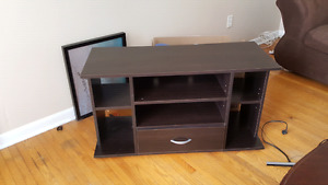 TV Stand with shelves and drawer