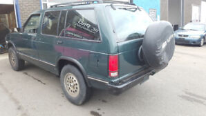 Chevy Blazer in good shape! must sell.