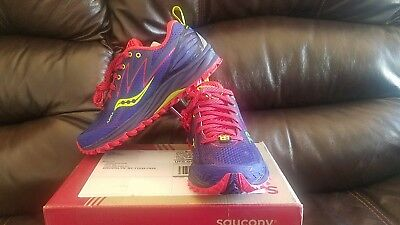 Saucony Peregrine 5 Women's TRAIL Running Shoes Size 5 NEW