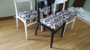 4 Kitchen Dining Chairs