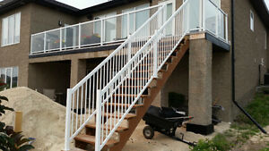 Front Step/Deck Railings starting at $26/ lin. ft!!!
