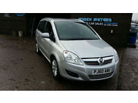 2010 60 VAUXHALL ZAFIRA 1.6 ENERGY 7 SEATER MPV,102000 MILES WITH FULL SERVICE