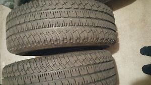 2 × 275/60R20 Michelin A/T2
