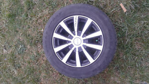 15 Inch Alloy Wheels with Good Year Eagle Sport Tires