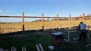 Post Hole, Fence and Deck Clients WANTED! New build or repairs Cambridge Kitchener Area image 5