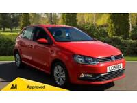 2015 Volkswagen Polo 1.0 75 SE 5dr Manual Petrol Hatchback