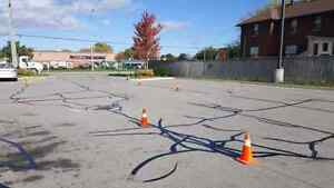 Pavement Markings - Parking Lot Line Painting - Crack Sealing  Cambridge Kitchener Area image 10