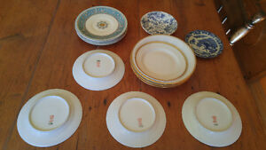 Limoges, Myott & Tapestry collectable dishes