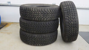 Winter Tires -- Set of 4 in Excellent Condition