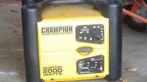 2000 watt generator  Inverter