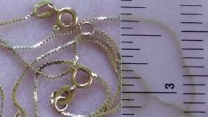 Vintage 14K Yellow Gold Serpentine Necklace and a Bracelet