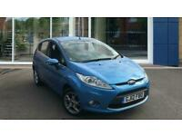 2012 Ford Fiesta 1.25 Zetec 5dr Hatchback Petrol Manual