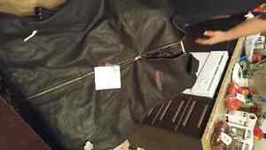 Men Leather Jacket Cambridge Kitchener Area image 1