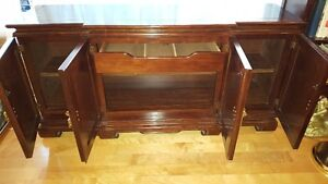 Spectacular large Oriental China Cabinet Buffet + Hutch West Island Greater Montréal image 5