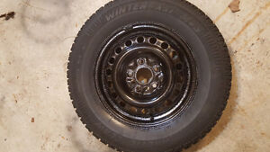 225/70R16 Arctic Claw winter tires on rims London Ontario image 1