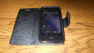 HTC PHONE WITH CASE