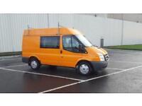 2010 10 PLATE Ford Transit 2.2TDCi Duratorq ( 85PS ) 9 SEAT CREW VAN