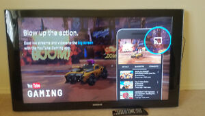 "SAMSUNG 46"" LCD 1080p HDTV - $300 OBO - can deliver for extra!"
