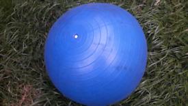 Gym Ball, blue, large