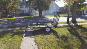 "Utility Or ATV Trailer 54"" wide x 8' Long  In Mint condition"
