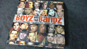 Boyz and the Bandz hardcover book. The hottest men in music.