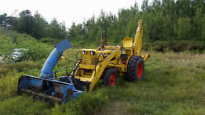 CASE BACKHOE 530CK rebuilt