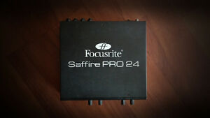 Focusrite Saffire Pro 24 Interface. (Firewire)