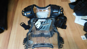 bmx racing gear - helmets/pants/jerseys and chest protector