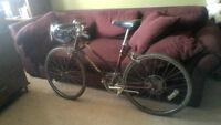 10-spd Road Bike, 24 inch tires, 18 inch frame