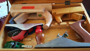 5 PIECE Wood Planer Set Hand tools in box