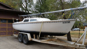 Catalina 22  - Swing Keel with 2002 15 HP Mercury Outboard
